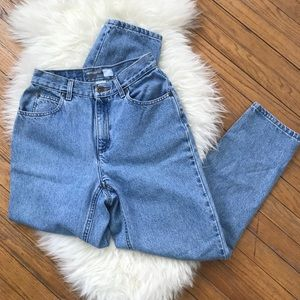 Liz Claiborne Vintage High Waisted Denim Mom Jeans